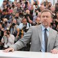 Arrivée de Tim Roth, alias Rainier dans Grace de Monaco, au Festival de Cannes le 14 mai 2014