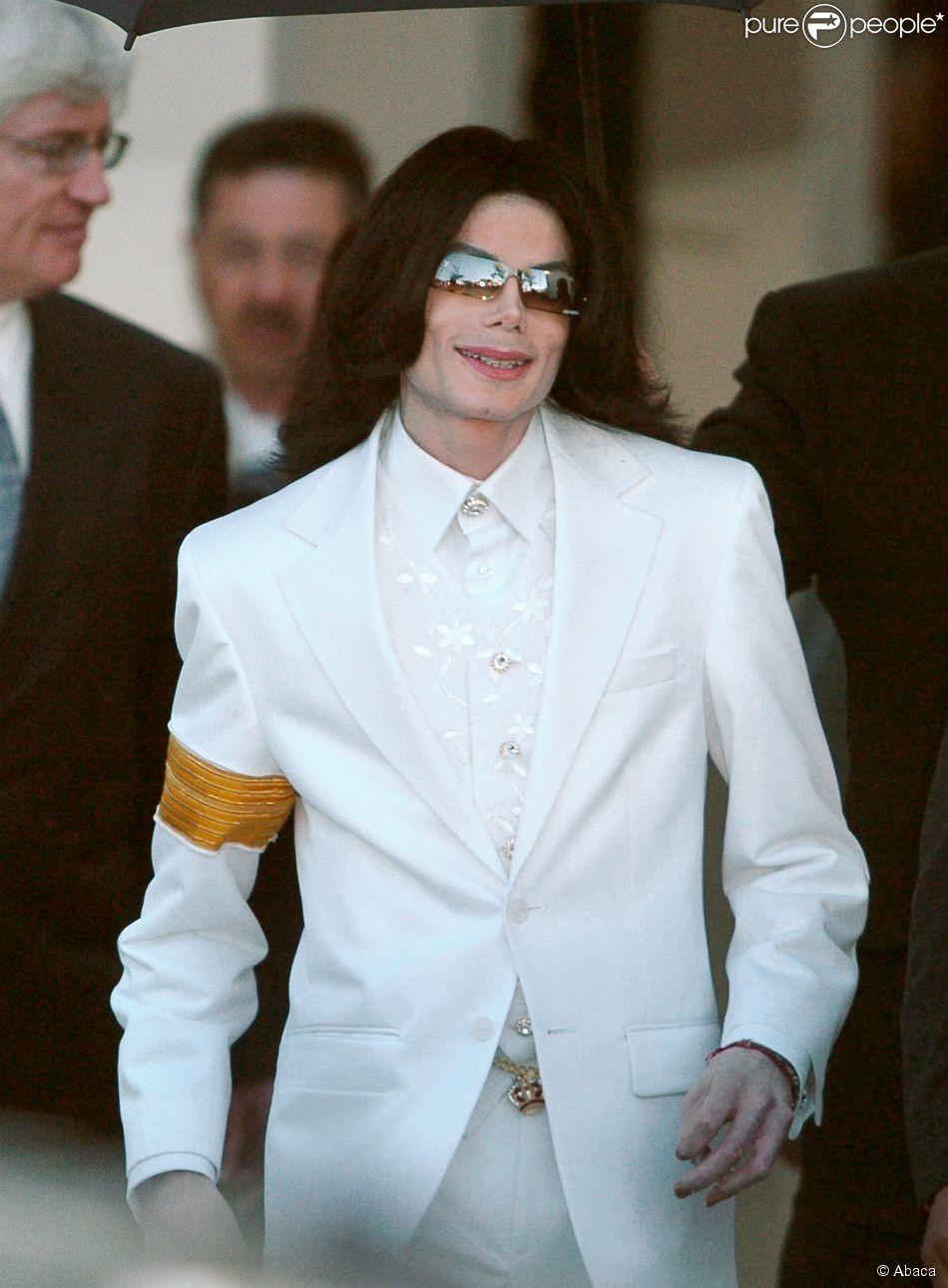 Michael Jackson à Santa Maria, le 31 janvier 2005.