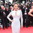 Tais Araujo lors de la montée des marches du Festival de Cannes et la projection du film Saint Laurent le 17 mai 2014