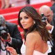 La montée des marches du Festival de Cannes et la projection du film Saint Laurent le 17 mai 2014 avec notamment Eva Longoria