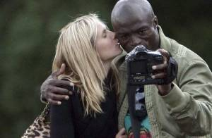 REPORTAGE EXCLUSIF : Heidi Klum et Seal, in love à Paris !
