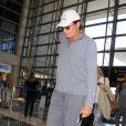 Bruce Jenner quitte l'aéroport de LAX à destination de Paris pour assister au mariage de sa fille Kim Kardashian et de Kanye West. Le 20 mai 2014