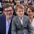 """Michel Hazanavicius, Abdul Khalim Mamutsiev, Bérénice Bejo - Photocall du film """"The Search"""" lors du 67e Festival International du Film de Cannes, le 21 mai 2014."""