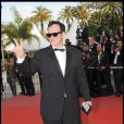 Quentin Tarantino lors du Festival de Cannes 2009
