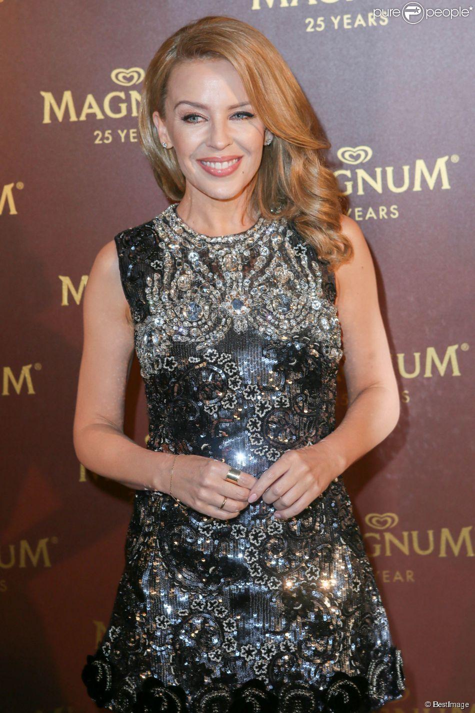 Kylie Minogue - Photocall de la soirée du 25ème anniversaire de Magnum à Cannes lors du 67ème festival de Cannes le 21 mai 2014.