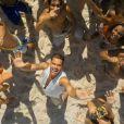 Ricky Martin dans le clip de Vida.