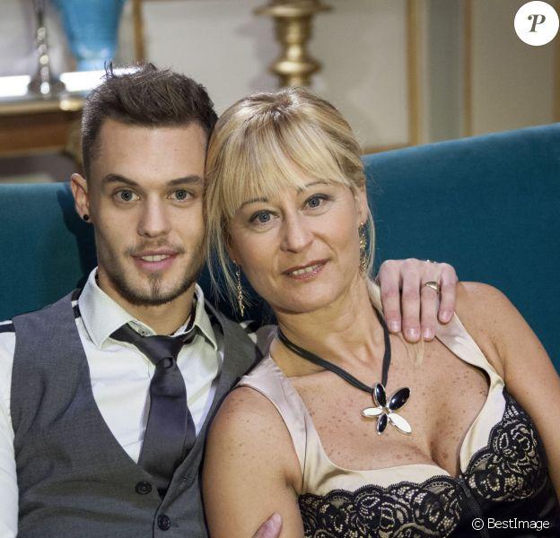 """Exclusif - Steven et sa maman Corinne au casting de """"Qui veut épouser mon fils ?"""" saison 3 sur TF1"""