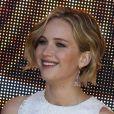 Jennifer Lawrence au photocall de Hunger Games - La Révolte à Cannes le 17 mai 2014.