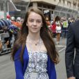 La princesse Alexandra de Hanovre, fille de la princesse Caroline, lors du Grand Prix de Monaco de Formule 1 le 25 mai 2014