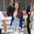 La princesse Alexandra de Hanovre, fille de la princesse Caroline, a assisté au Grand Prix de Monaco de Formule 1 le 25 mai 2014