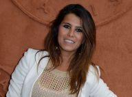 Roland-Garros : Karine Ferri, lumineuse malgré une journée pluvieuse