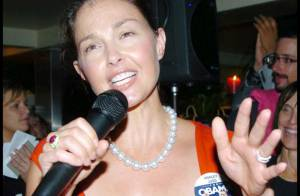 PHOTOS : Ashley Judd, la sublime actrice se déchaîne pour Obama !
