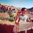 Tom Daley et sa meilleure amie Sophie, au Maroc pour le documentaire Tom Daley Goes Global, le 15 mai 2014.