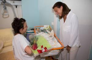 Stéphanie de Monaco : Maman comblée, elle fait la fête des Mères à la maternité