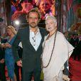 Andreas Kronthaler et Vivienne Westwood - sur le tapis rouge du Life Ball 2014 à Vienne le 31 mai 2014