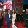 Conchita Wurst et Gery Keszler sur le tapis rouge du Life Ball 2014 à Vienne le 31 mai 2014