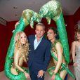 Alfons Haider lors du cocktail de bienvenue organisé à l'occasion du Life Ball 2014 à Vienne, le 30 mai 2014.