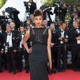 """Imany (Nadia Mladjao) - Montée des marches du film """"The Homesman"""" lors du 67e Festival du film de Cannes le 18 mai 2014"""