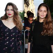 Laetitia Casta : Resplendissante non loin de sa superbe petite soeur Marie-Ange