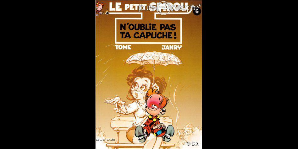 """L'album du Petit Spirou """"N'oublie pas ta capuche"""""""
