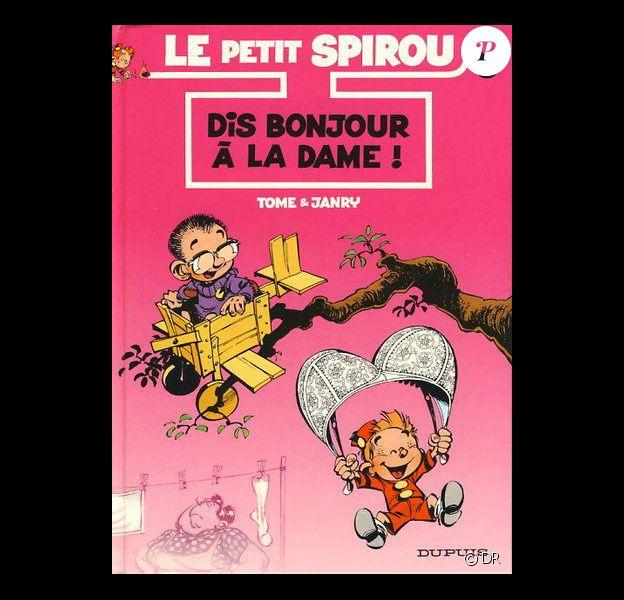 """L'album du Petit Spirou """"Dis bonjour à la dame"""""""