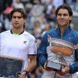 Rafael Nadal remportait le 9 juin 2013 son 8e titre à Roland-Garros aux dépense de son compatriote David Ferrer, sous les yeux du prince Felipe.