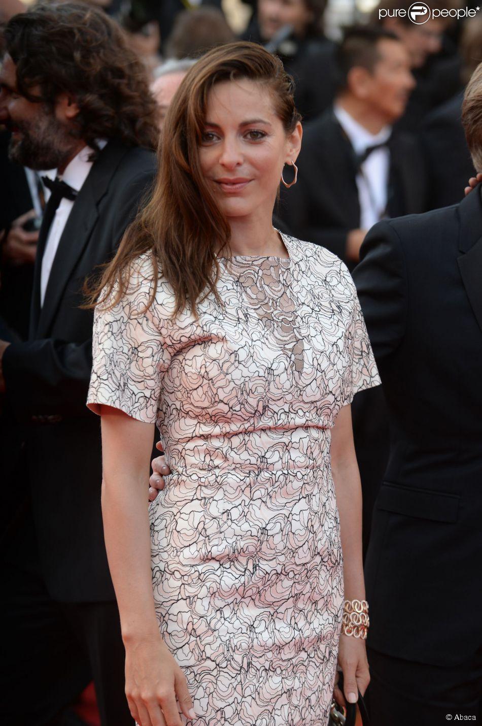 Audrey Dana au Festival de Cannes le 18 mai 2014