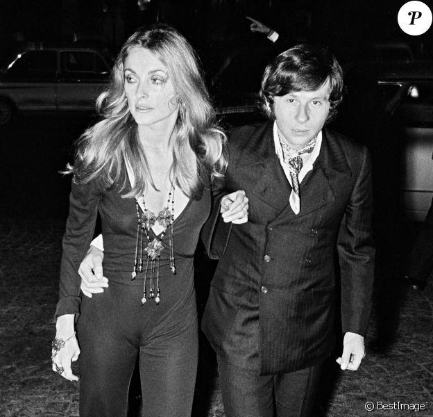 """Sharon Tate et Roman Polanski à l'avant-première de """"Rosemary's Baby"""" en 1968."""