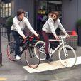 Jean Imbert et Alexandra Rosenfelf : promenade en amoureux à vélo !