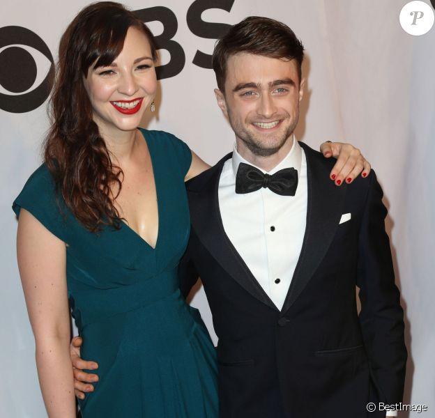 Daniel Radcliffe et sa petite amie Erin Darke lors de la 68e cérémonie des Tony Awards à New York, le 8 juin 2014.