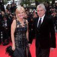 """Claude Sérillon et Catherine Ceylac - Montée des marches du film """" Saint-Laurent"""" lors du 67 ème Festival du film de Cannes – Cannes le 17 mai 2014."""