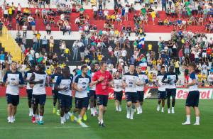 Coupe du monde : Le nouveau visage de l'équipe de France séduit le Brésil