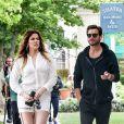 Khloé Kardashian et Scott Disick, en pleine séance shopping dans les Hamptons. New York, le 11 juin 2014.