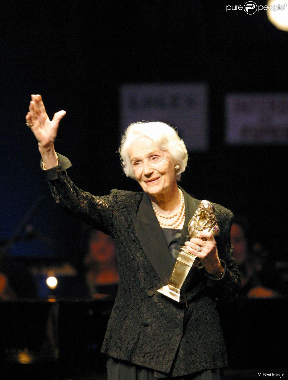 Gisèle Casadesus aux Molières 2003.