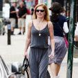 Geri Halliwell dans les rues de Londres, le 11 juin 2014.