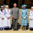 Le prince Charles organisait le 12 juin 2014 une garden party en l'honneur de la Société de la Croix-Rouge britannique.