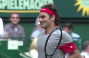 Roger Federer, distrait ? Le Suisse gagne un match... sans s'en rendre compte