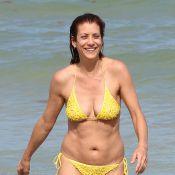 Kate Walsh : Détendue en bikini avec son chéri avant le grand come-back