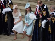 Kate Middleton et le prince William : Révérences et regards complices à Windsor
