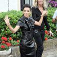 Eva Longoria (robe Dsquared²) lors du Taormina Film Festival en Italie le 17 juin 2014