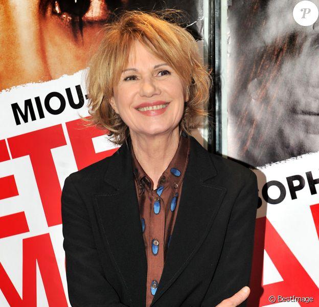 Miou-Miou à Paris le 5 février 2013.