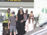 Catherine Zeta Jones et Michael Douglas, unis : En Espagne avec leurs enfants