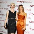 """Evelyne Noraz et Jessica Alba lors de la soirée """"Women In Film And Television 'Designing Women' Awards"""" à New York le 18 juin 2014"""