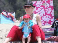 Gwen Stefani : Maman radieuse à la plage, inséparable de son fils Apollo