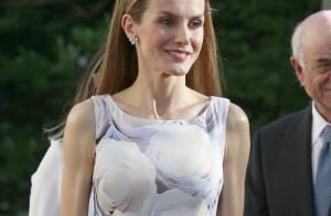 Letizia d'Espagne : Une reine renversante pour sa première mission solo