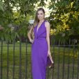 Amber Le Bon assiste à la Summer Party annuelle de la Serpentine Gallery. Londres, le 1er juillet 2014.