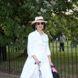 Bianca Jagger assiste à la Summer Party annuelle de la Serpentine Gallery. Londres, le 1er juillet 2014.