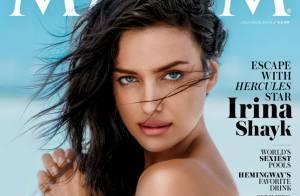 Irina Shayk : Topless et sublime avant de faire ses premiers pas d'actrice
