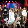 M. Pokora et la troupe de la comédie musciale Robin des bois, Ne renoncez jamais, donnaient leur dernière représentation au Zénith d'Orléans le 29 juin 2014