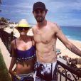 Kaley Cuoco et Ryan Sweeting au Mexique, photo postée le 3 Juillet 2014.